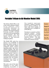 Sartrex - Model 209L - Portable Tritium-In-Air Monitors Brochure
