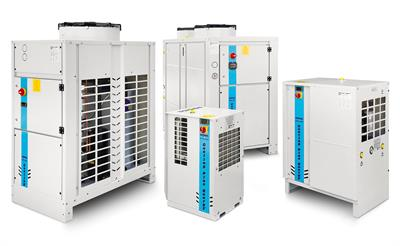 Hitema - Model ENR Series - Air-Cooled Liquid Chillers with Axial Fans