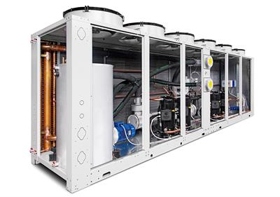 Hitema - Model ENRF Series - Free-Cooling Liquid Chillers with Axial Fans