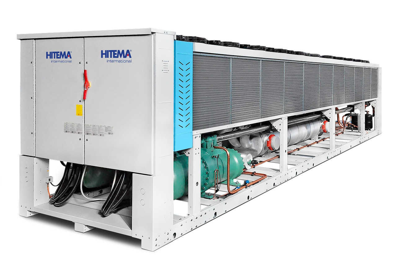 Hitema - Model EET Series - Air-Cooled Liquid Chillers with Axial Fans