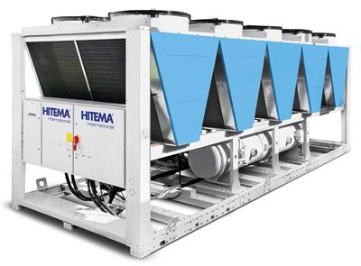 Hitema - Model AHF Series - Free-Cooling Liquid Chillers with EC Axial Fans