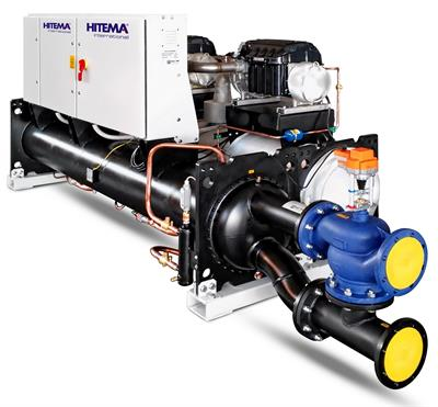 Hitema - Model AHW Series - Water-Cooled Chillers with Turbocor Compressors