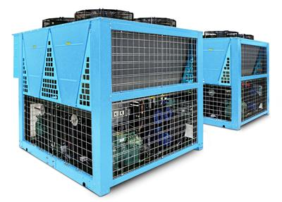 Hitema - Model PRP Series - Modular Air-Cooled Liquid Chillers with Axial Fans