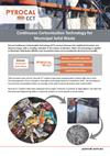Continuous Carbonisation Technology for Municipal Solid Waste - Brochure