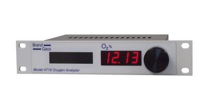 Brand Gaus - Model 4710 - Oxygen Analyzer for Extractive CEMS and Process Control