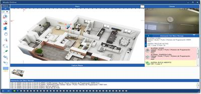 COFEM - Version ILINK software - Ghaphic monitoring  + CCTV