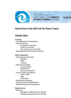 HydroVision India 2012 Call for Papers Topics – Brochure