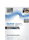 WaterWorld Middle East 2013 – Sponsorship Brochure