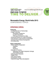 Renwable Energy World Conference & Expo India 2012 – Call for Papers Topics