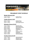 Topsides, Platforms & Hulls Schedule of Events - Brochure