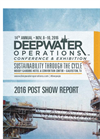 Deepwater Operations Conference and Exhibition - Brochure