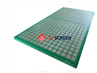 Scomi - Model SJ-SG - Steel Frame Shaker Screen
