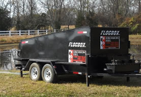 The Floc Box - Mobile Dewatering Trailer