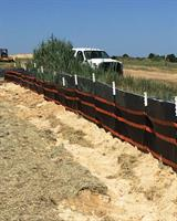 SMARTfence - Model 42 - High-Tensile/High-Modulus Woven Geotextile Sediment Fence