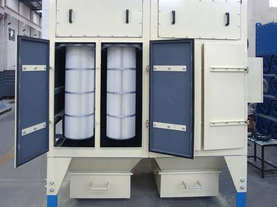 ZONEL FILTECH - Model ZF/DC/V - Vertical Cartridge Dust Collectors