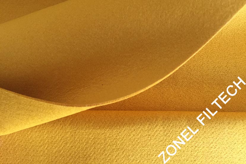 Zonel Filtech - Polyimide/ P84 Needle Felt Filter Ccloth/ P84 Filter Bags
