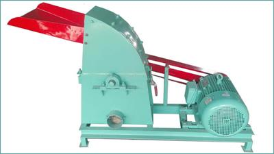 Azeus - Model CF420 - Electric Wood Hammer Mill
