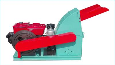 Azeus - Model CF500A - Diesel-driven Wood Hammer Mill