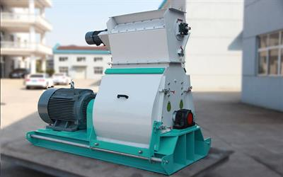 Azeus - Model SDH-ZW - Waterdrop Feed Hammer Mill