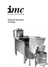 IMC - Model CS-C1 - Chipper Brochure