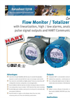 Fluidwell - Model E018 - Flow Rate Monitor / Totalizer - Datasheet