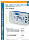 Fluidwell - Model D012 - Flow Rate Indicator / Totalizer - Brochure