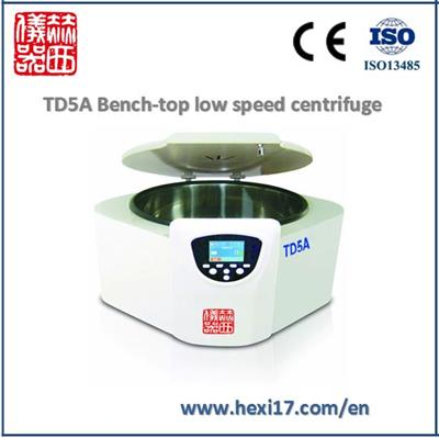 Herexi - Model TD5A - Tabletop-Low Speed lab Centrifuge