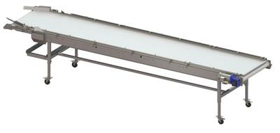 A B Packing - Trilane Inspection Conveyor