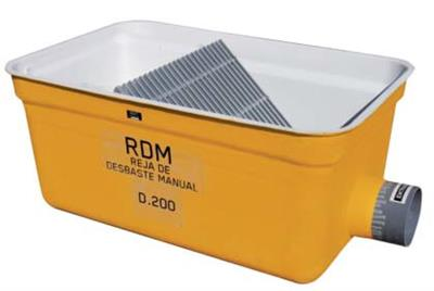 Model RDM - Manual Bar Screen