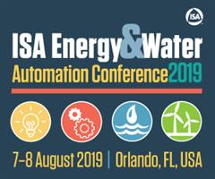 ISA Energy & Water Automation Conference 2019