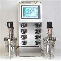 bbi - Model xCUBIO - Twin Bioreactor and Fermentor with Two Cultivation Vessels