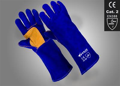 Welding Gloves - Model SKU: WI-01-5032 - Leather Welding Gloves