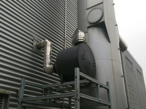 A Non Regenerative DPF fitted to a Perkins 3012TAG2A Standby generating set - Case Study