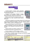 Agrónic - Model 2500 - Fertigation Controller Brochure