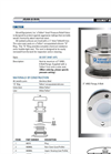 Teflon - Model DOT 3X407 AFTL - Lined Pressure Relief Valve Brochure
