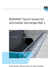 ROTAMAT - Model RoK1 - Storm Screen- Brochure