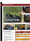 Brush Wolf - Model 72 M-AX - Brush Cutter Attachments for Skid Steers Brochure