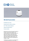MS-40A Pyranometer - Technical Specifications