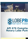 LobePro - Model API 676 - Positive Displacement Rotary Lobe Pumps Brochure